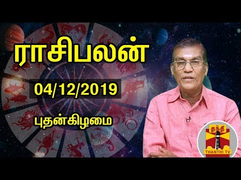 (04/12/2019) Rasipalan by