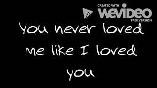 Brett Young - Like I Loved You (Lyrics)