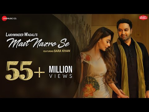 mast-nazro-se---official-music-video-|-lakhwinder-wadali-featuring-sara-khan