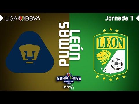 U.N.A.M. Pumas Club Leon Goals And Highlights
