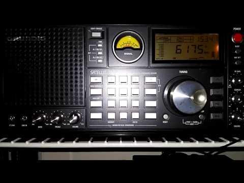 Mini Whip Active Antenna - Shortwave broadcast of Radio Nacional de Brasilia @ 6175 kHz