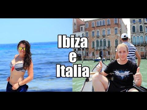 Viaje a Ibiza e interrail por Italia
