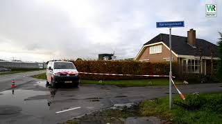 Politie doet inval in pand in Honselersdijk