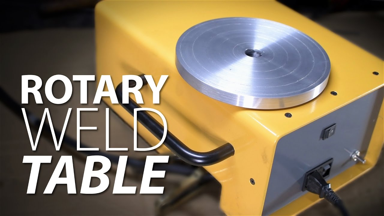 Building A Rotary Weld Table Youtube