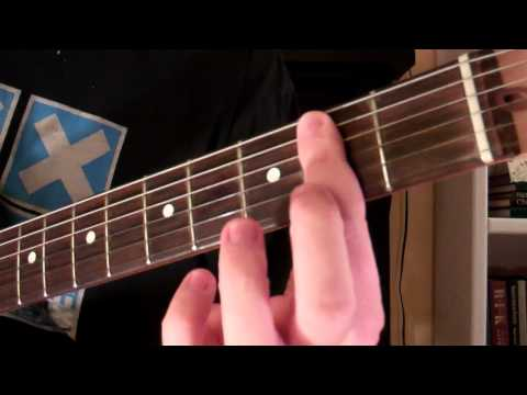 How To Play the Bsus2 Chord On Guitar (Suspended Chord)