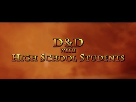 D&D with High School Students S02E00 - Matt & Carl's Character Creation - DnD, Dungeons & Dragons