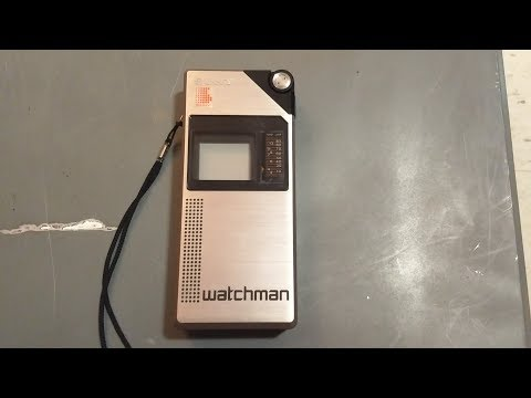 Sony Watchman FD-210 portable TV (1982)