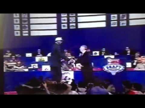 "Rasheed ""SHEED"" Wallace 1995 NBA DRAFT 4th Pick"