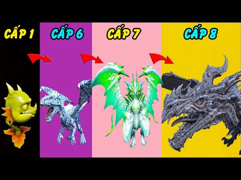 GTA 5 - Fan bắt Tôi làm Rồng tiến hóa từ Rồng thực vật chăn bò đến Rồng Hắc ám vô địch | GHTG