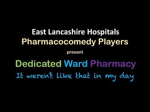 Dedicated Ward Pharmacy? It weren't like that in my day!