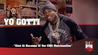 Yo Gotti - Shot At Because Of Our CMG Merchandise (247HH Wild Tour Stories)