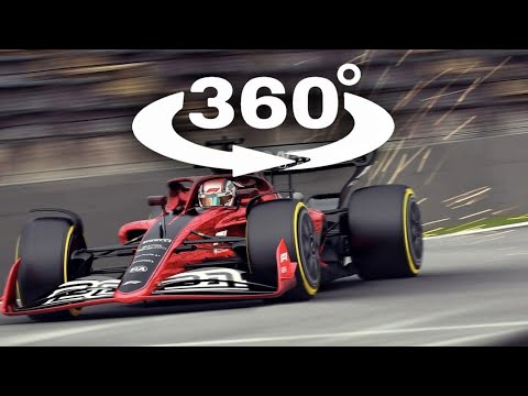 360 Video VR Project Cars VR F1 Racing 360° Virtual Reality Experience