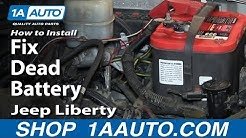 How To Replace Battery 02-07 Jeep Liberty