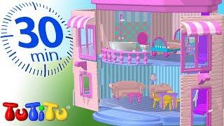 Игрушки для малышей | Кукольный домик | 30 минут ТуТиТу Игрушки