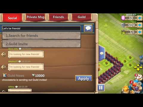 Castle Clash  Why Is World Chat This Way?
