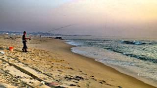 Angeiras praia - Lavra - Matosinhos - PORTUGAL - ( Variações - Noite ) - HD / HQ