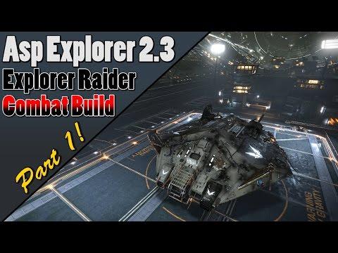 Elite dangerous - Asp Explorer Combat Build 2 3 - Part 1