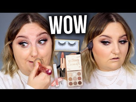 FULL FACE USING MY CURRENT FAVORITES + SOME NEW MAKEUP! thumbnail