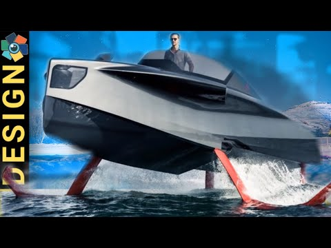 9 Awesome Watercraft and Hydrofoil Boats
