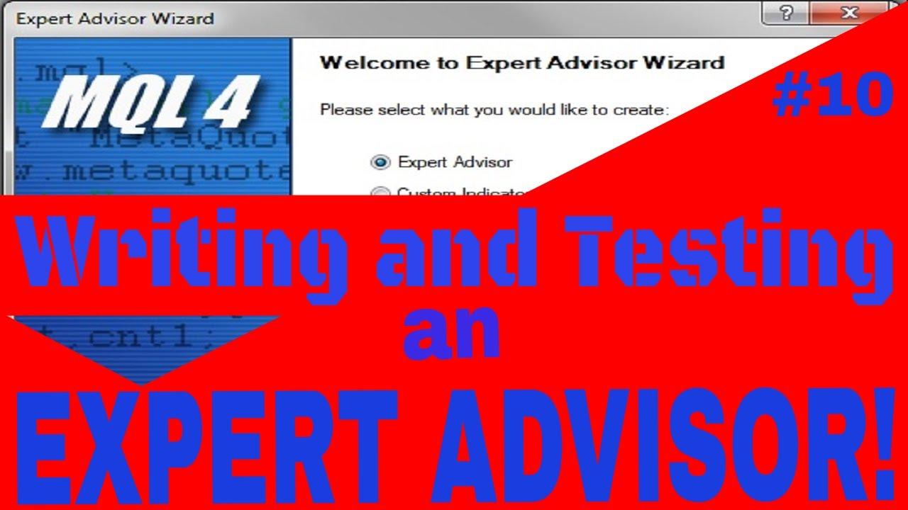 Mql4 Programmin Lesson10 Writing An Expert Advisor Based On Moving