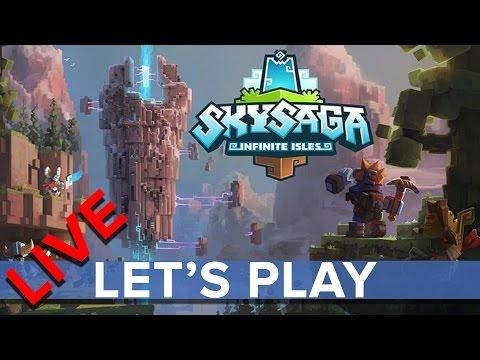 SkySaga: Infinite Isles - Eurogamer Let's Play LIVE