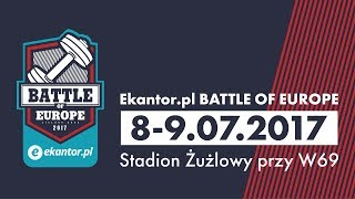 Ekantor.pl Battle of Europe - CrossFit International Charity Competition - DAY 1