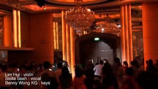 Wedding march in - First love - Benita Cheng emcee [The Wedding Serenata]