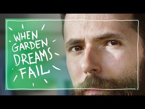 When Garden Dreams Fail - Replanting Peas