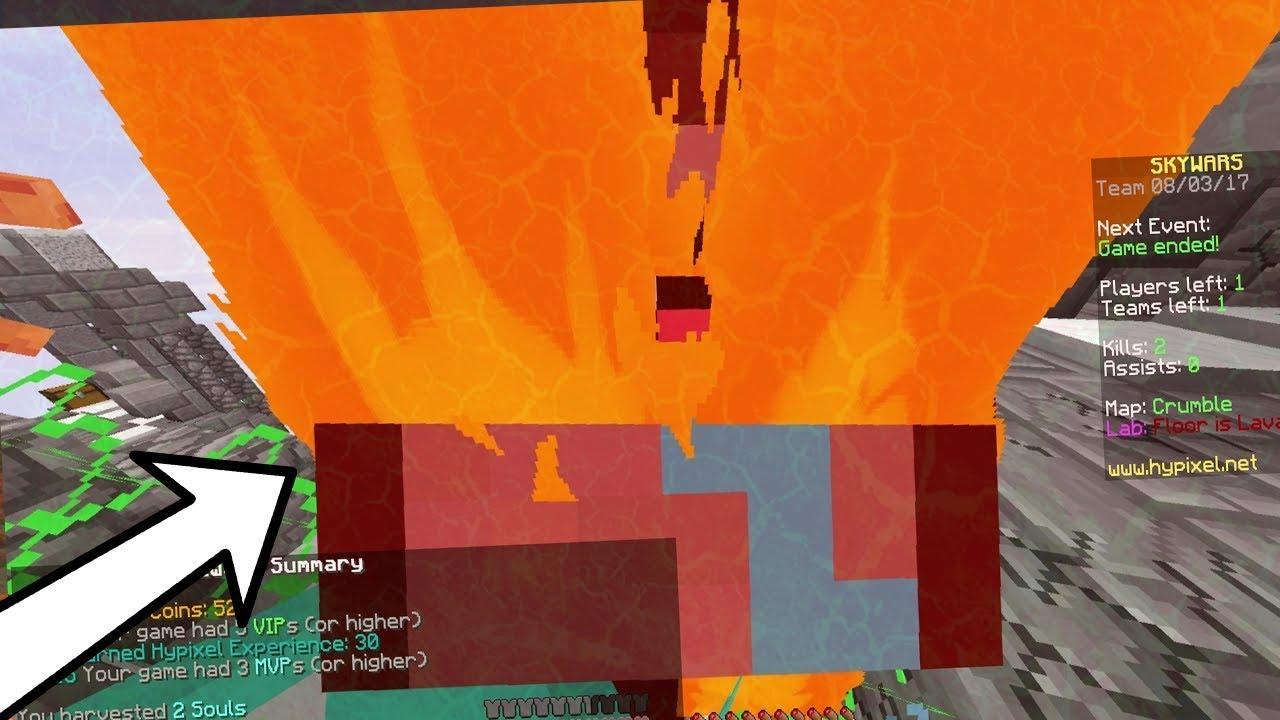 Chế độ Lava Skywars - roblox fortnite skins showcase kenh video giai tri danh cho thieu