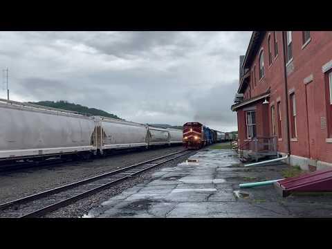 Vermont Rail System at St. Johnsbury VT.