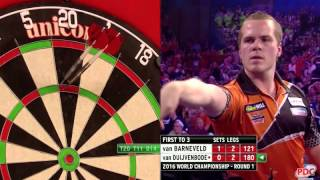Busting 180 at the World Championship - UNBELIEVABLE!!
