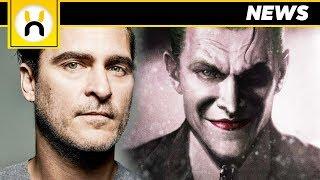 Joaquin Phoenix Frontrunner to Play The Joker in Origin Film