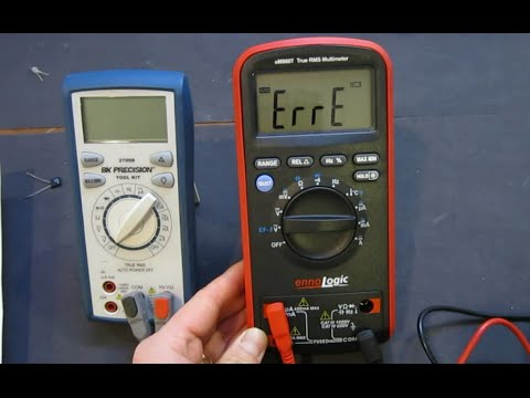Repeat Review: Pt 1 - Agilent U1232A Multimeter by mjlorton