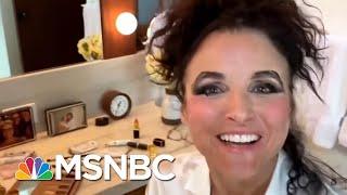 Julia Louis-Dreyfus Gets Her Make-Up Just Right In COVID-19 PSA | Morning Joe | MSNBC