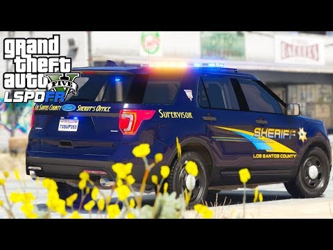 GTA 5 - LSPDFR #175 - Alameda County Sheriff