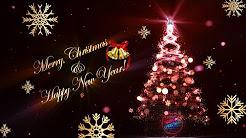 Christmas Animation Videos 2019 | Animated Christmas Cards | video Christmas Cards | Merry Christmas Tree Animations