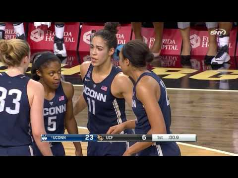 UConn Women's Basketball vs. UCF Highlights