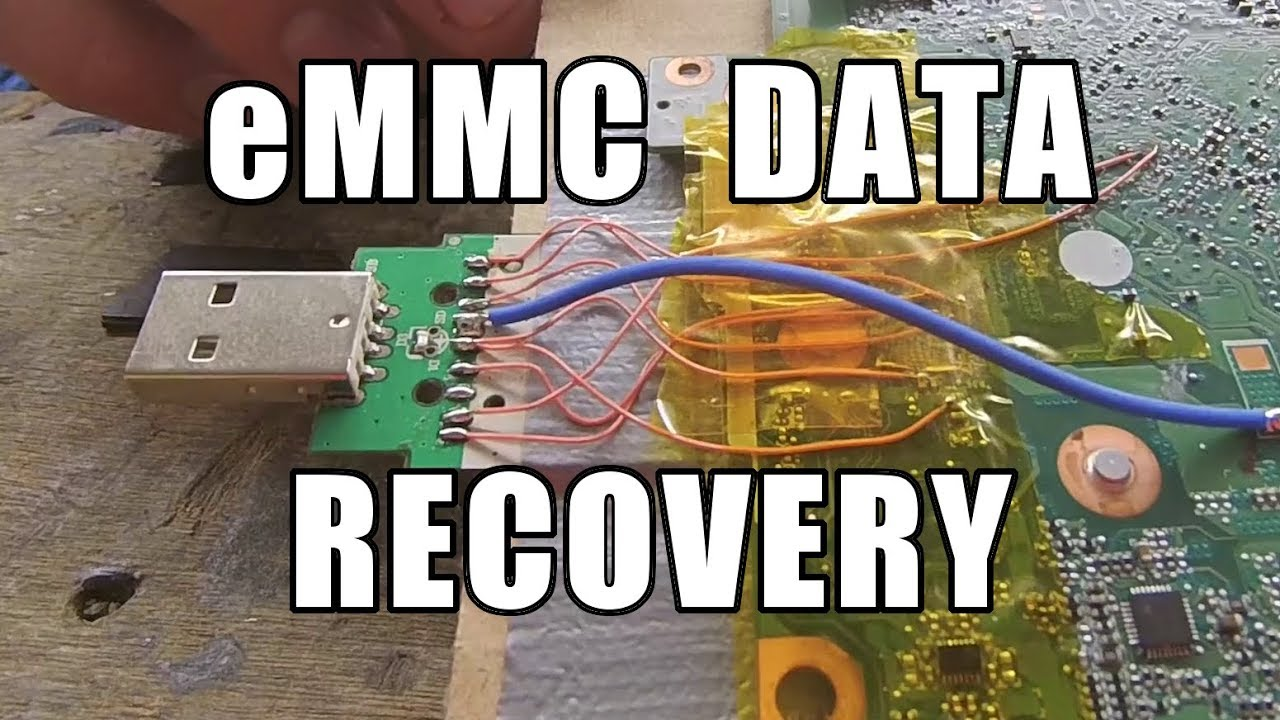 Laptop eMMC Data Recovery on a Budget - Andy's Boring Job