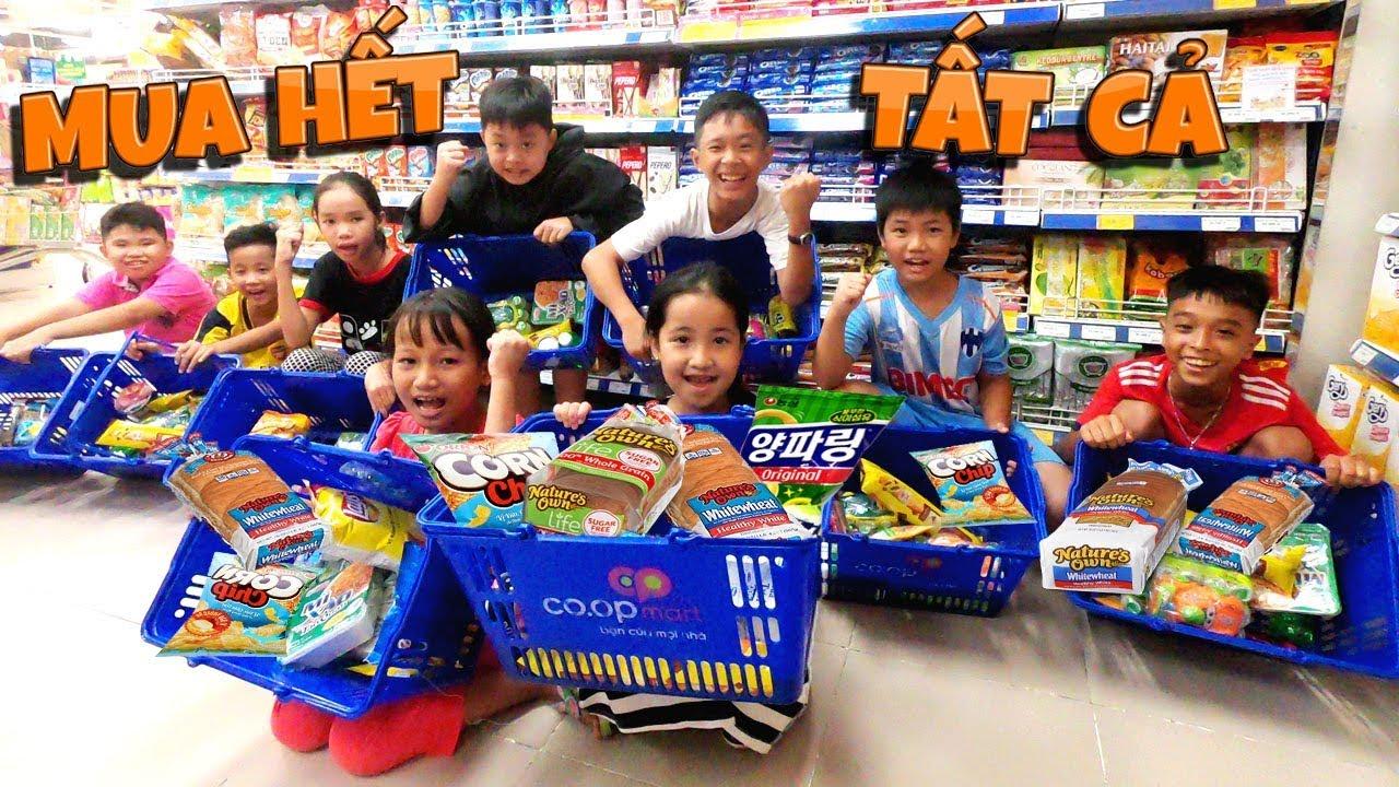 Tony | Dẫn Team Đi Siêu Thị Mua Sắm – Hết Sạch Tiền
