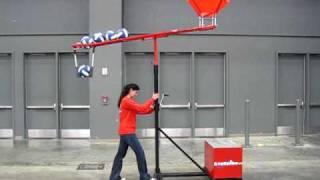 AcuSpike Volleyball Spike Training Machine - Portability