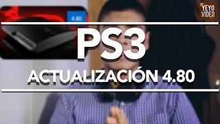 LANZADA LA ACTUALIZACIÓN 4.80 PARA PS3 l Noticia
