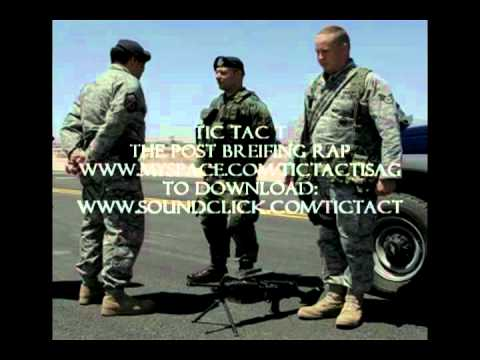 The Official Air Force Post Breifing Rap USAF Security Forces