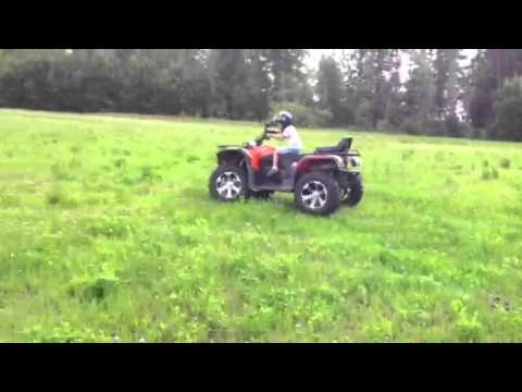 Квадроцикл polar fox xy500 atv2