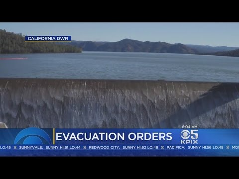 Nearly 200,000 Remain Evacuated Amid Flood Fears At Oroville Dam