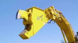 GXT 2555R on PC 4000 - Monster Demolition Equipment