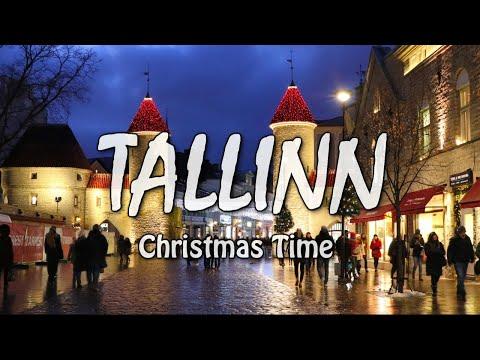 Christmas Time in OLD TALLINN. Рождество в Таллине. Ярмарка. Jõuluturg.