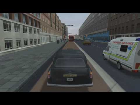 Taxi Tour of London (The Getaway - PS2) [Logitech G27]