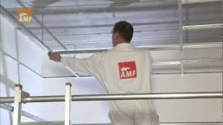 Repeat youtube video Knauf AMF Deckensysteme - Montagefilm Sichtbares System