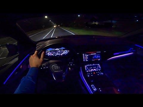 2019 AUDI Q8 S-Line Quattro NIGHT POV Drive AMBIENT LIGHTING by AutoTopNL