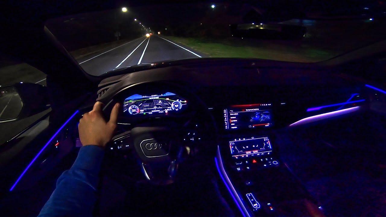 2019 AUDI Q8 S-Line Quattro NIGHT POV Drive AMBIENT ...